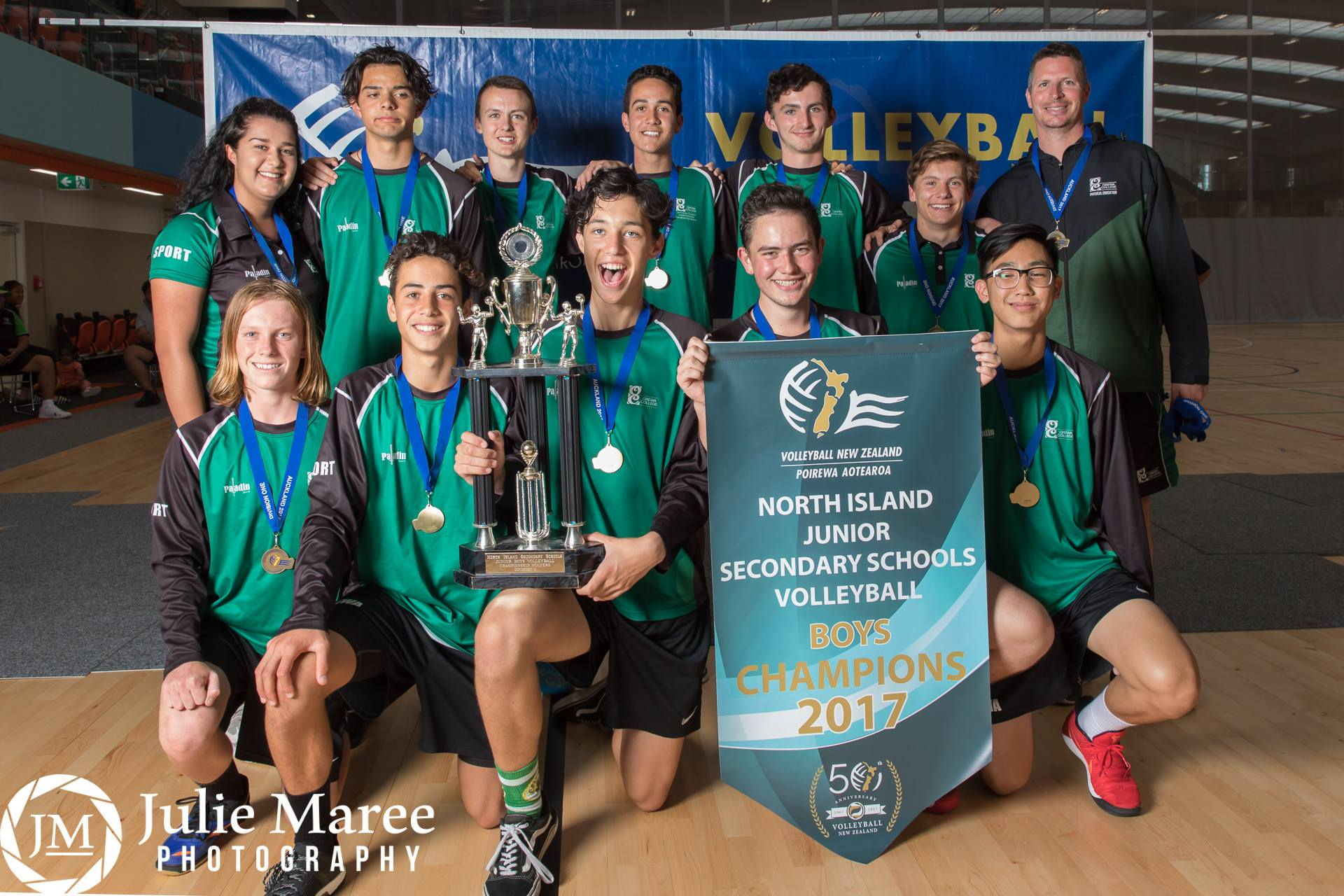 Orewa College - Junior Boys champions