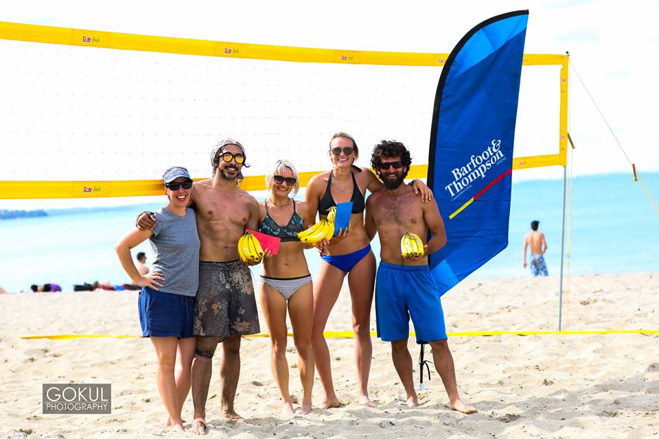 Mission Bay Mixed 4s Harbour Volleyball